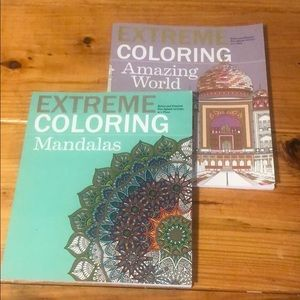 Two extreme coloring books